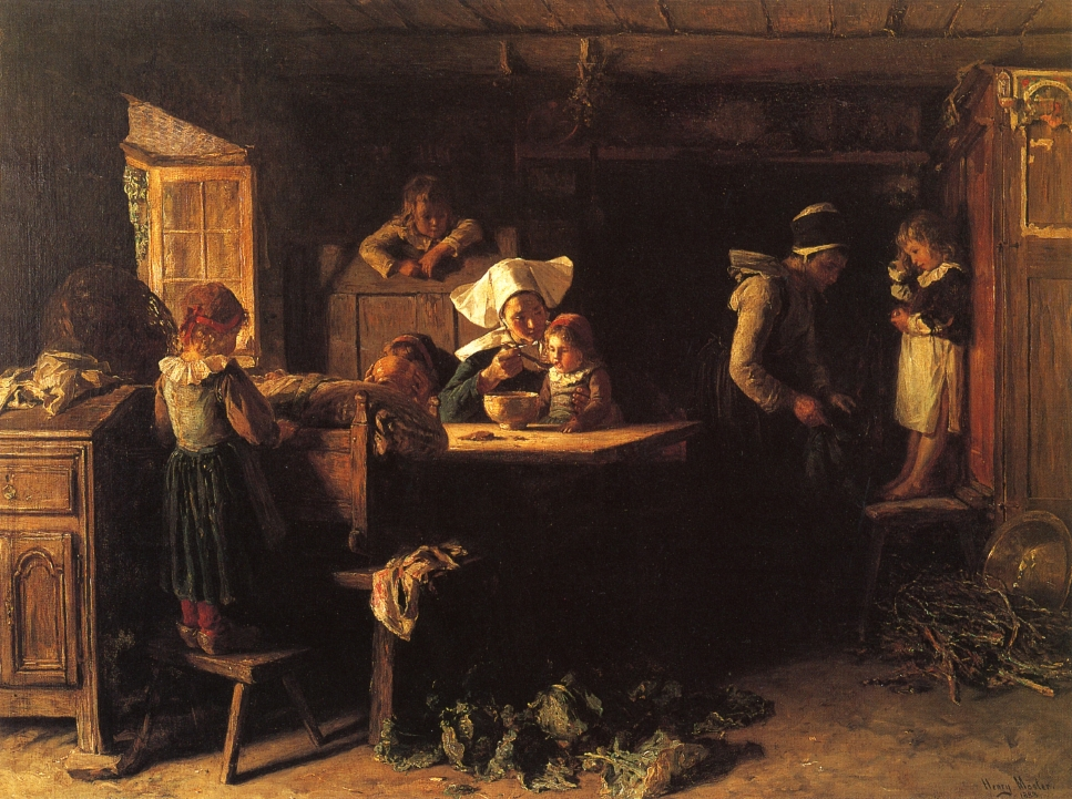 New Year's Morning by Henry Mosler, 1888