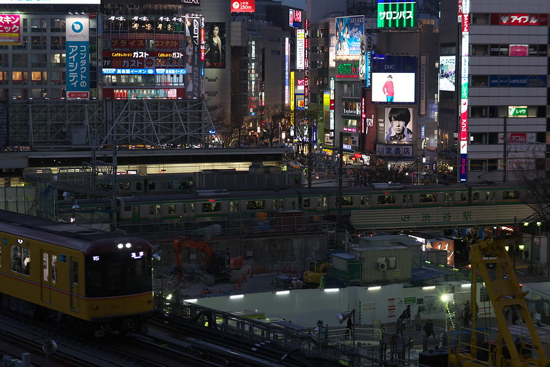 Tokyo Train Story 銀座線 2016年2月2日