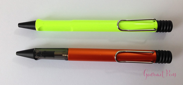 Review Lamy Safari & AL-Star Ballpoint @GoldspotPens @Lamy @LamyUSA (2)