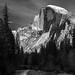 Half Dome B&W - Explore by jetguy1