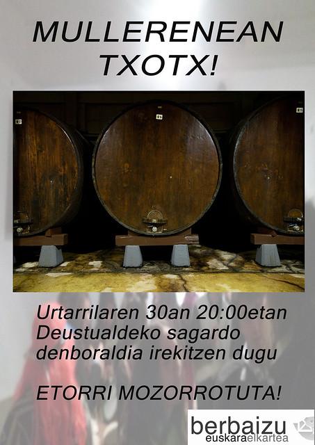 Mullerenean TXOTX!