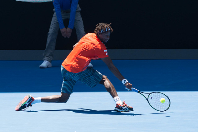 Gael Monfils at the Australian Open 2016