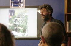 Brian Bainbridge on pollen pathways at Fawkner Library