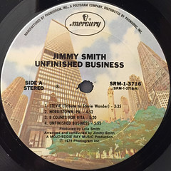 JIMMY SMITH:UNFINISHED BUSINESS(LABEL SIDE-A)