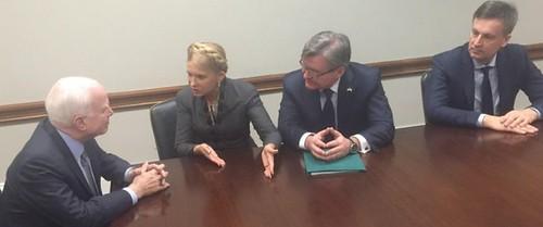 Тимошенко про щось домовляється у США