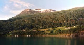 Norwegian Fjord. Samsung AF Zoom 1050 Macro 35mm Film Camera 38-105mm Zoom