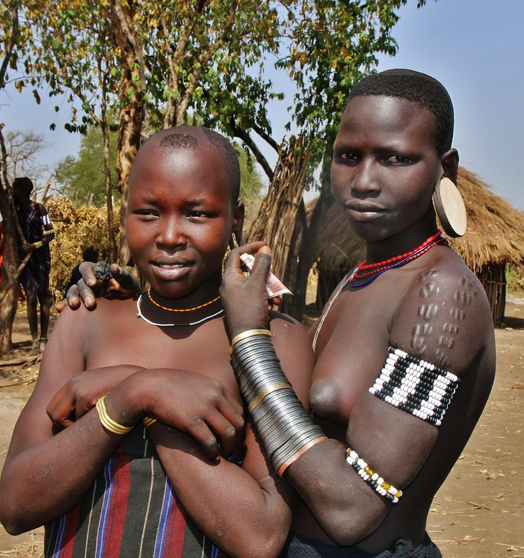 Mursis Women (Omo Valley, Ethiopia)