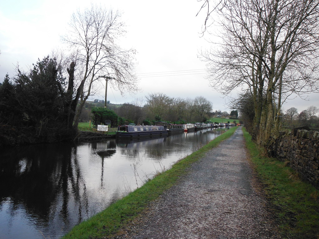 Boats Near Salterforth