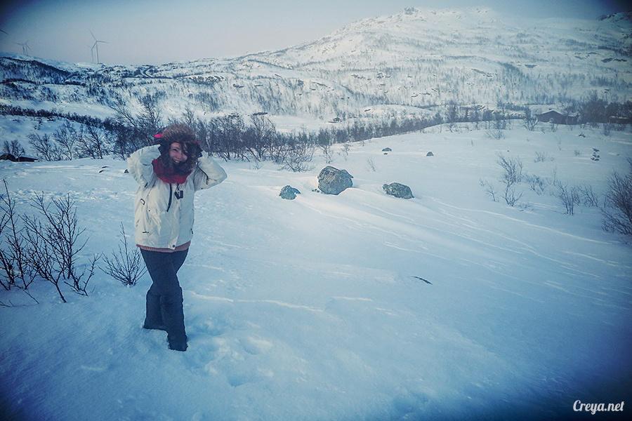2016.02.23▐ 看我歐行腿 ▐ 阿呀~一不小心就從瑞典到了挪威, Narvik 小鎮遇見地理課本中的峽灣 16.jpg