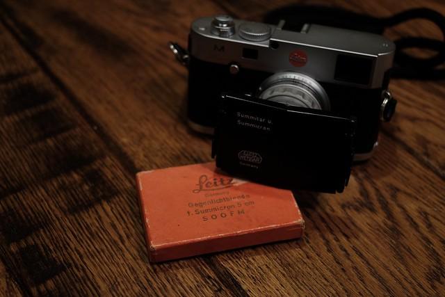 SOOFM & Summicron 50mm/f2.0 1st Rigid & M(Typ240)