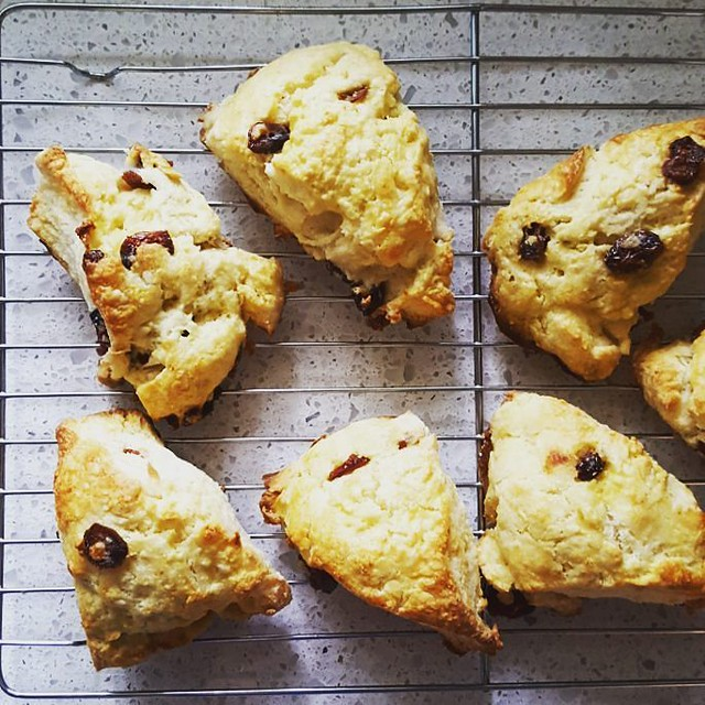 No playdate is complete without freshly made scones for the Mama's.