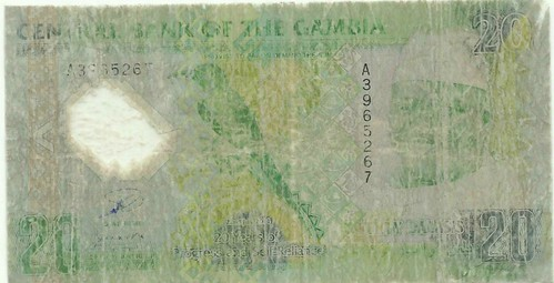 Gambia polymer note