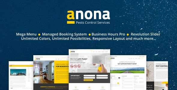 Themeforest Anona v3.1.0 - Pest Control WordPress Theme