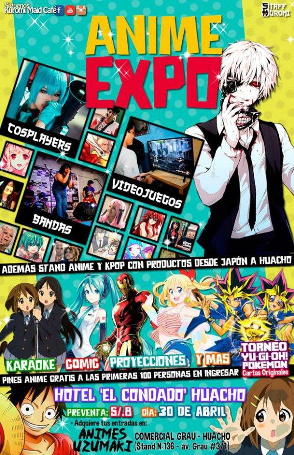 Animexpo 2016 Huacho