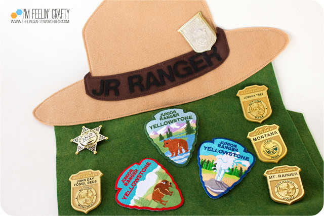 JuniorRangerBanner-Badges-ImFeelinCrafty