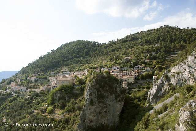 View on Peille