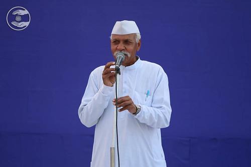 SNM Zonal Incharge, Vaid Banwari Lal from Paota, Rajasthan