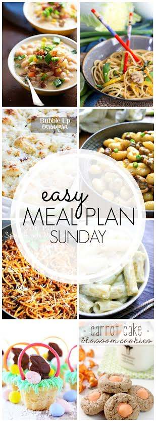 Week 38. Collaborative weekly meal planning collage.