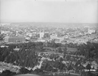 Lower Town from Victoria Tower, Parliament Buildings, Ottawa, Ontario / Basse-Ville depuis la tour de Victoria, édifices du Parlement, Ottawa (Ontario)