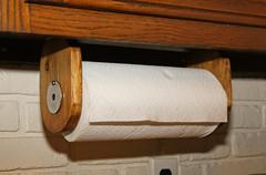 Finished Paper Towel Holder