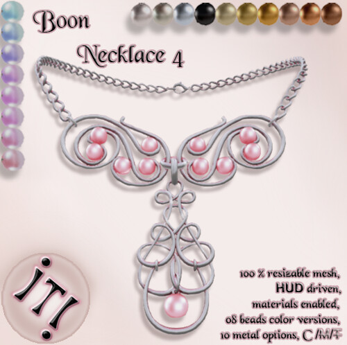 !IT! -  Boon Necklace 4 Image