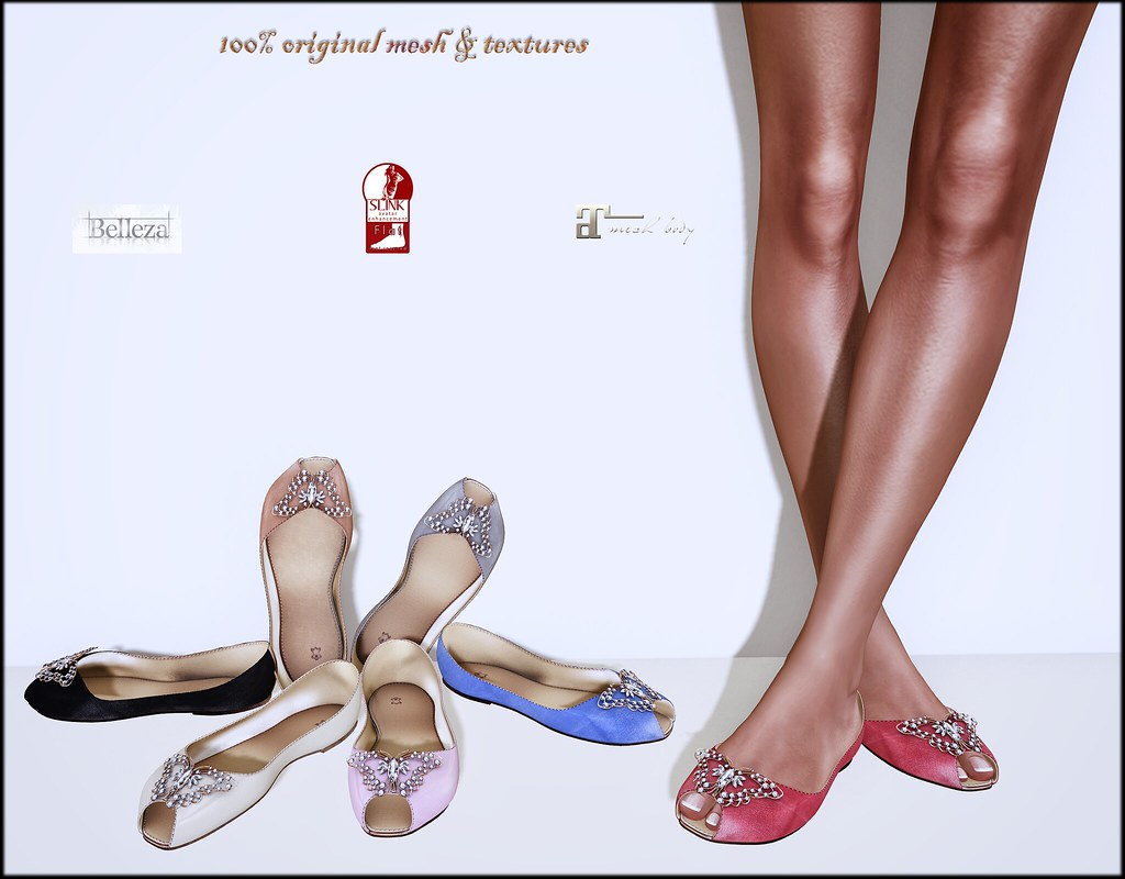 Kat flats by ChicChica @ Shiny Shabby soon