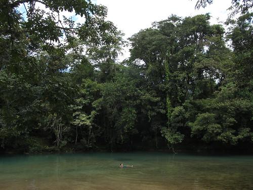 Cascades de Agua Azul: Mister J pique une petite tête