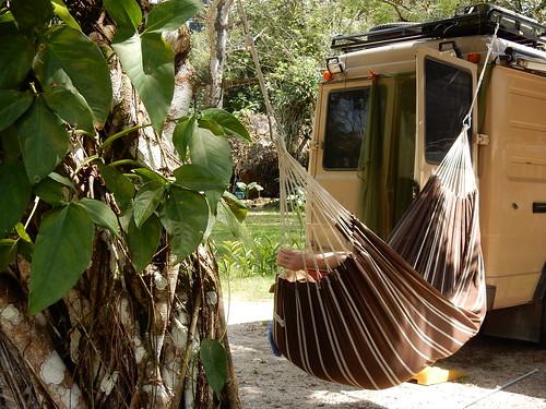 Palenque - ziek in de hangmat