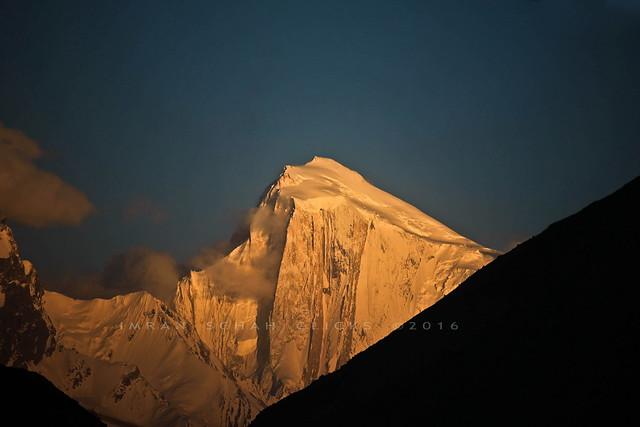 Mount Spantik 7027 meters