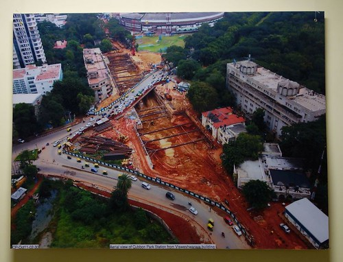 Pictures of Bangalore Metro Construction 03