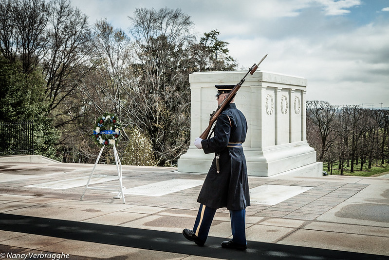 arlington - unknown soldier