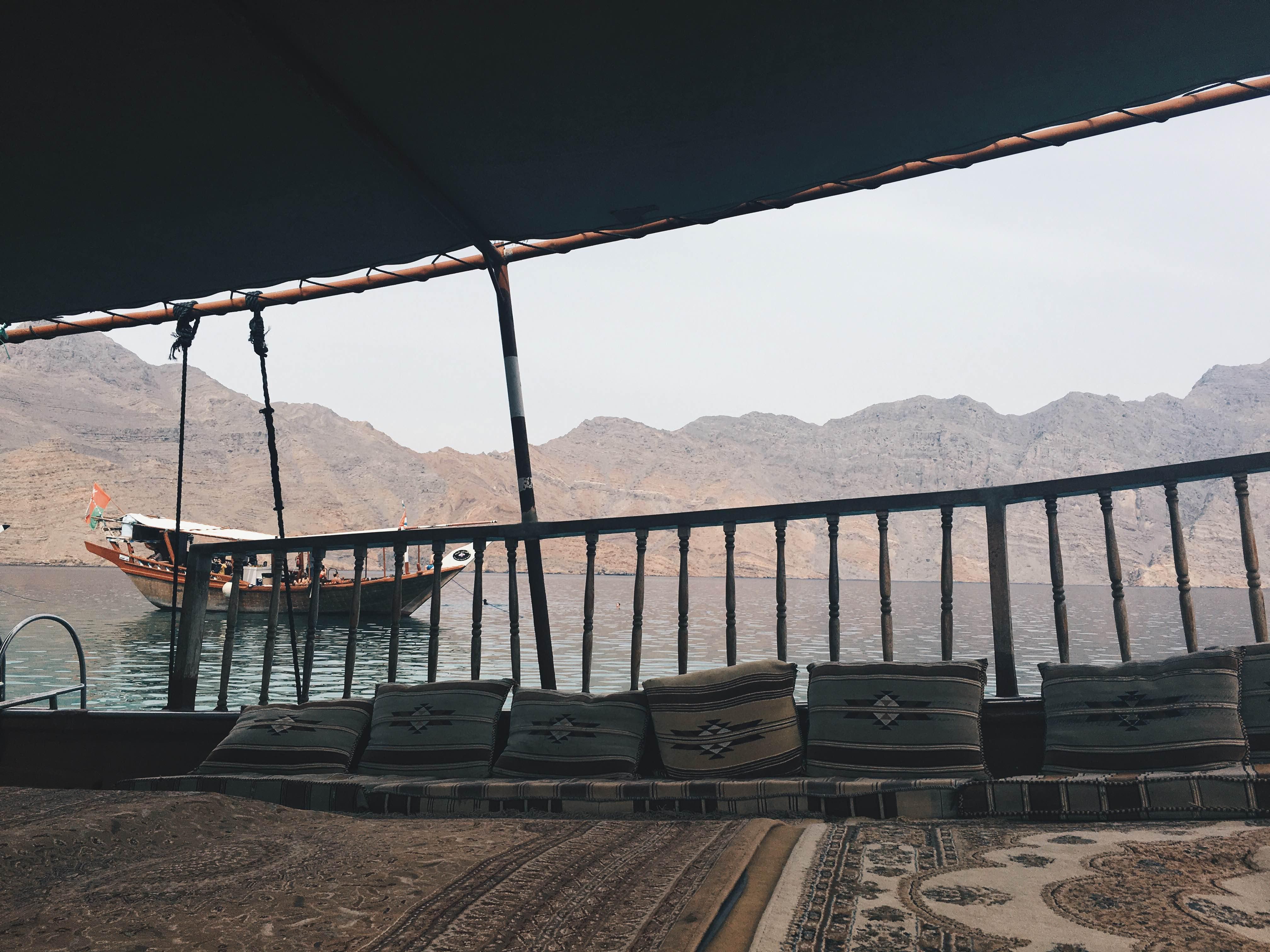 Khasab Musandam Oman - Dhow Cruise