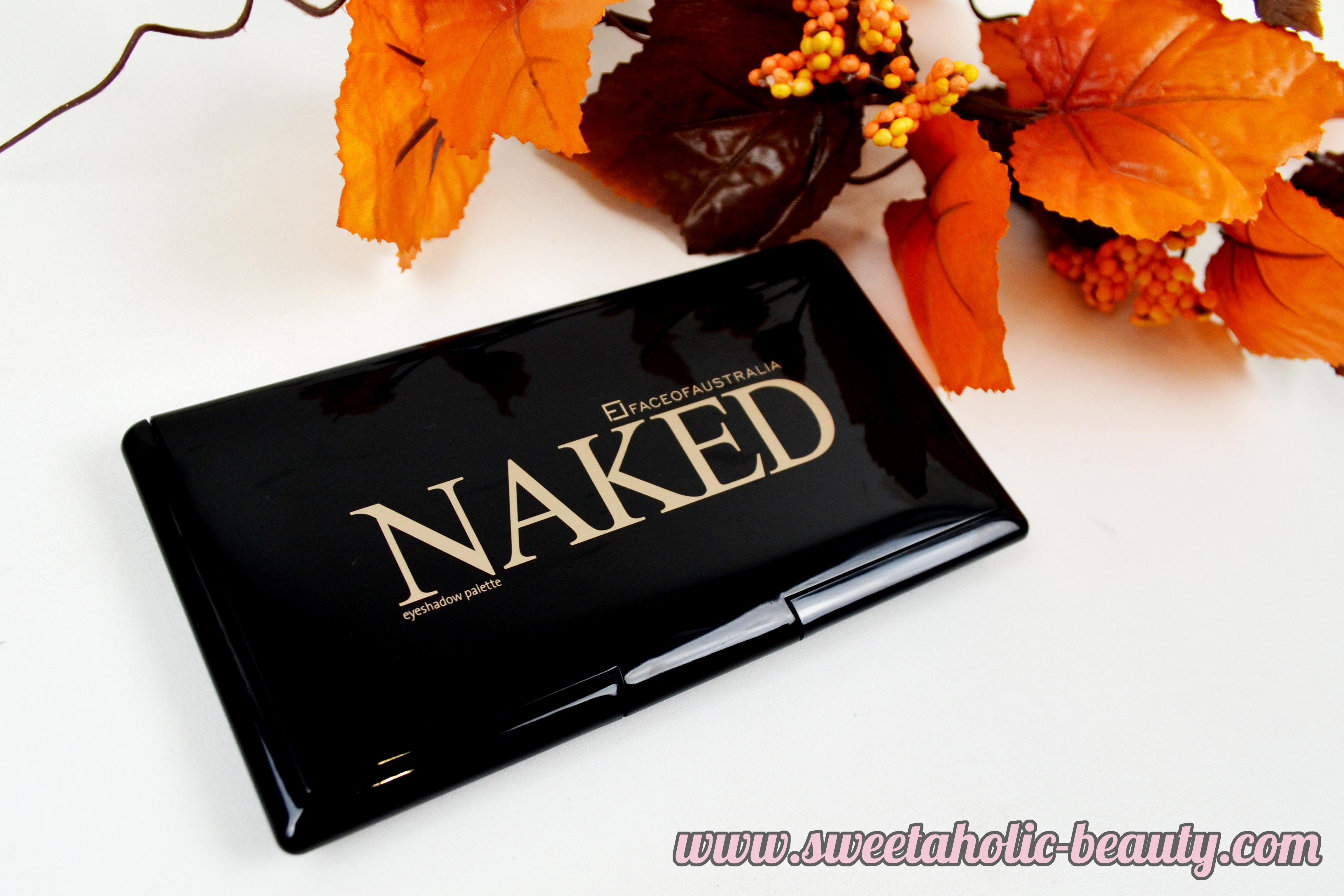 Face of Australia Naked Eyeshadow Palette Review & Swatches - Sweetaholic Beauty