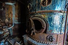 Boiler room at Slemmestad sementfabrikk