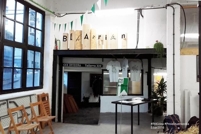 Proiektuen Azoka (K)idea - Eibar