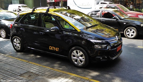 Citroën C4 Picasso Taxi de Santiago, Chile