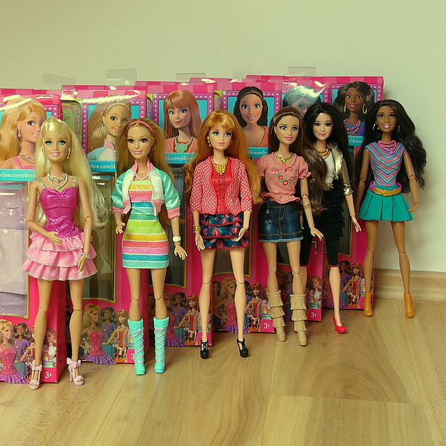 Barbie Life in the, Panasonic DMC-FZ10