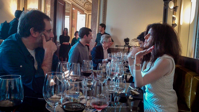 Prova de Vinhos Júlia Kemper no Sushic Chiado