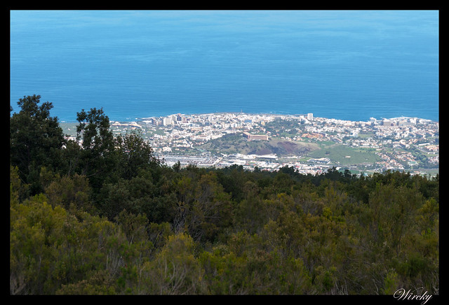 Tenerife la Orotava mirador Humboldt mirador Mataznos - Panorámica desde mirador de Mataznos