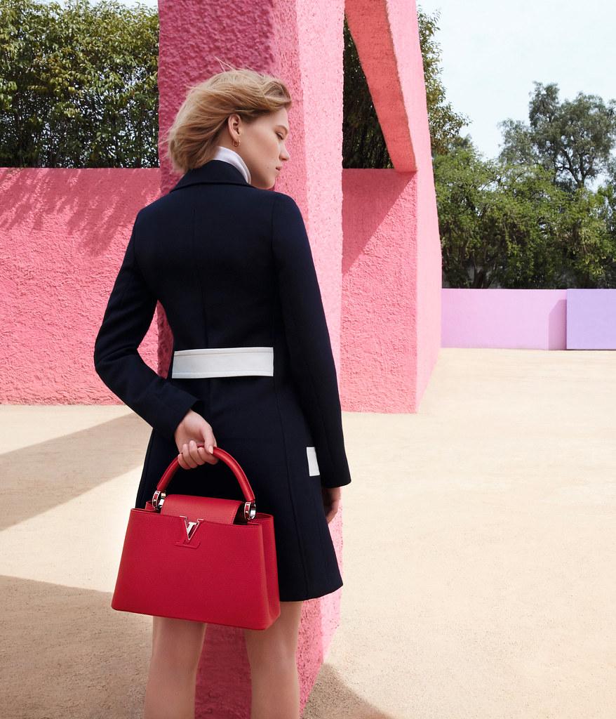 Леа Сейду — Фотосессия для «Louis Vuitton» ST 2016 – 4