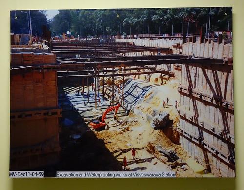 Pictures of Bangalore Metro Construction 08
