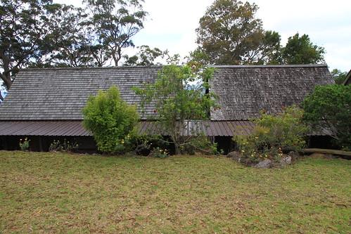 澳洲昆士蘭-Binna Burra Sky Lodges舊山莊已整修及未整修屋頂外觀-20141121-賴鵬智攝