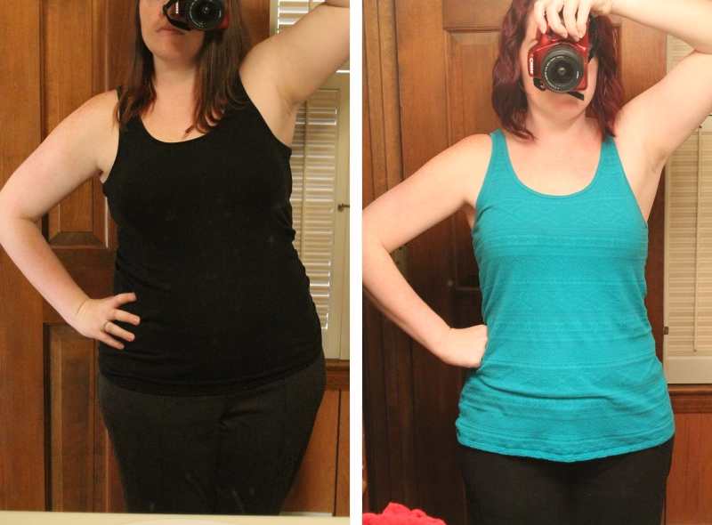 Weight loss, 1 year, front (36 lb.)