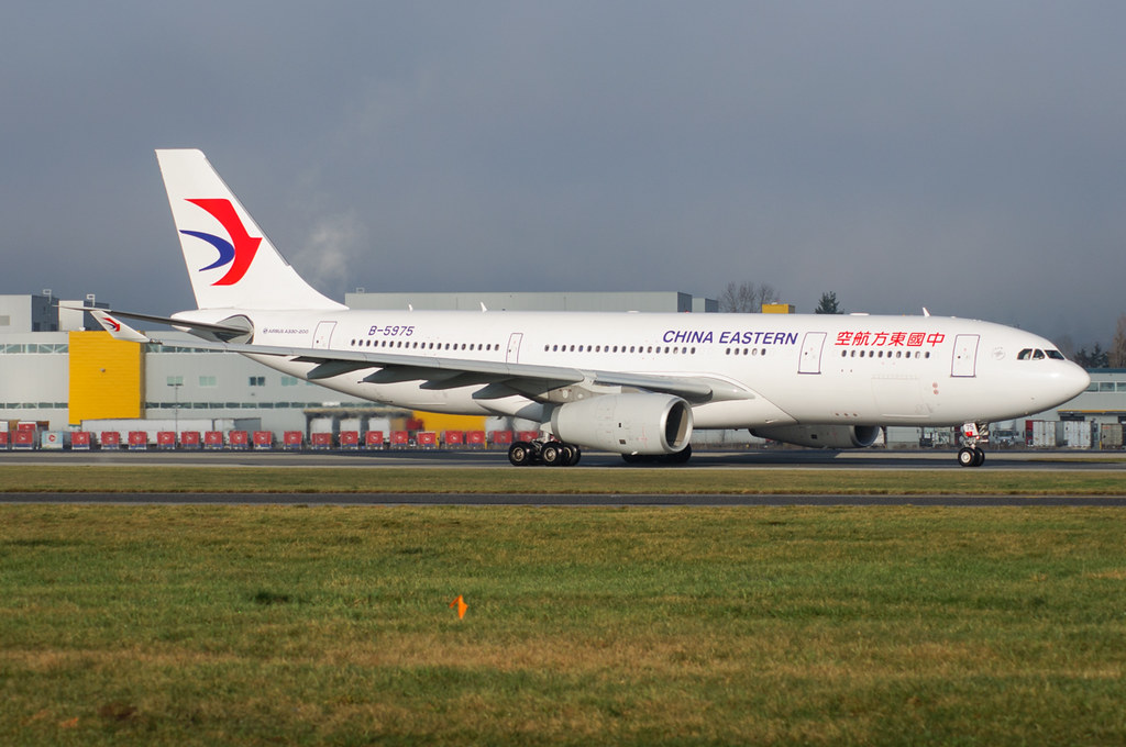 B-5975 - A332 - China Eastern Airlines