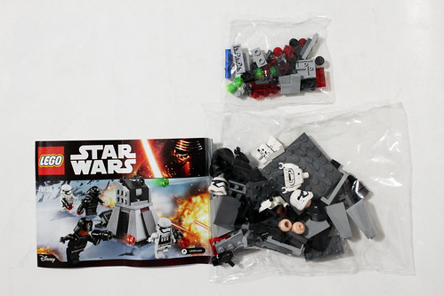 LEGO Star Wars First Order Battle Pack (75132)