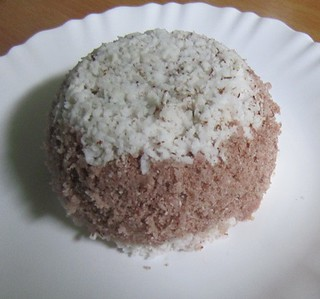 Chiratta puttu using navara rice