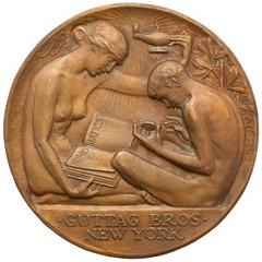 1927 Guttag Brothers medal obverse
