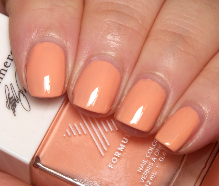 Formula X #ColourCurators March Peach Tea