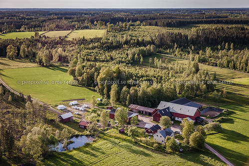sverige swe västragötaland flygfoto blidsberg vedåsla