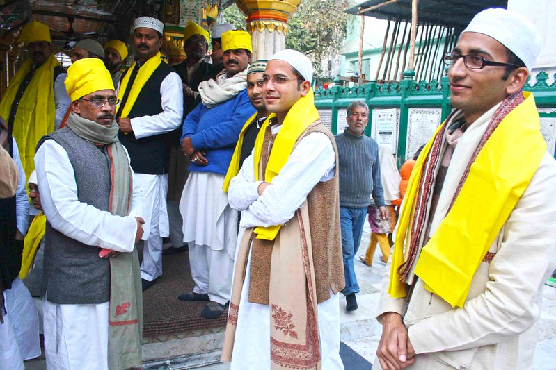City Notice - Basant Panchmi, Hazrat Nizamuddin Auliya's Dargah